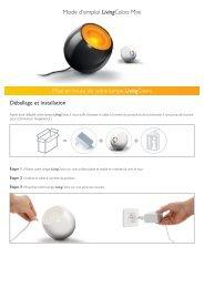Philips LivingColors Mini bianco lucido - Istruzioni per l'uso - FRA