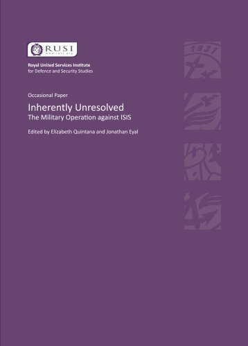Inherently Unresolved