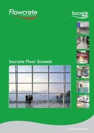 Isocrete Floor Screeds - Ecobuild