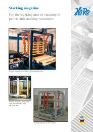 Stacking magazine - HaRo-Gruppe