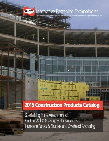 2015 Construction Products Catalog
