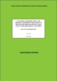 DISCUSSION PAPERS - Unctad