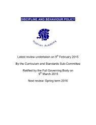 Discipline-Behaviour-Policy
