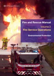 fire and rescue services volume 2