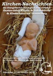 Kirchennachrichten Dezember 2015 / Januar 2016