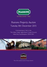 Pearsons Property Auction