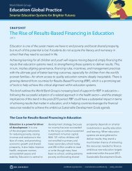 The Rise of Results-Based Financing in Education
