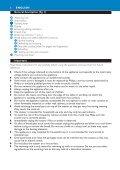 Philips Aluminium Collection Tostapane - Istruzioni per l'uso - ITA - Page 6