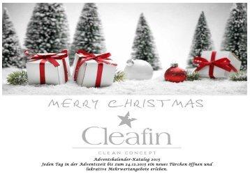 Adventskalender 2015 cleafin-onlineshop.com