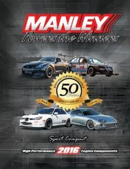 Sport Compact Catalog - Manley Performance