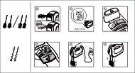Philips Viva Collection Mixer manuali - Guida rapida - ENG