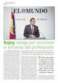 """Rajoy aboga por reconocer la """"dedicación"""" del profesorado - Page 4"""
