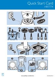 Philips Aluminium Collection Robot da cucina - Guida rapida - RON