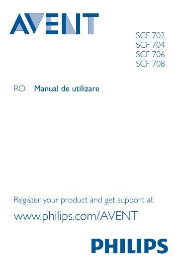 Philips Avent Set completo pappa per bimbi (6m+) - Istruzioni per l'uso - RON