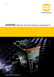 ethernet Cabling - Harting