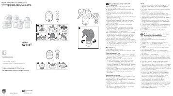 Philips Avent Biberon - Istruzioni per l'uso - RON