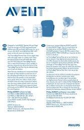 Philips Avent ThermaBag in nylon - Istruzioni per l'uso - SWE