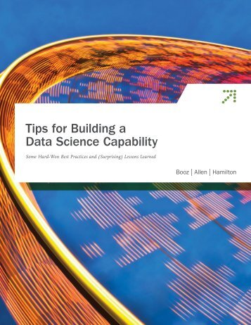 Tips for Building a Data Science Capability