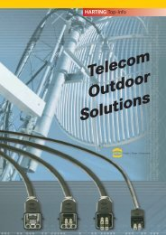Telecom Outdoor Solutions - Harting