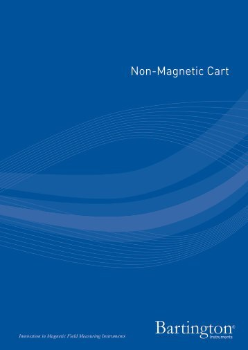 Non-Magnetic Cart