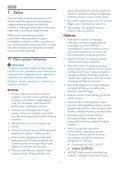 Philips Monitor LCD - Istruzioni per l'uso - HRV - Page 3