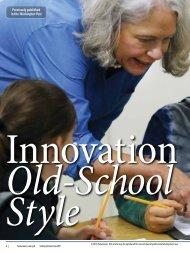 Innovation Old-School Style