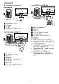 Philips Monitor LCD con SmartImage Lite - Istruzioni per l'uso - FIN - Page 7