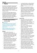 Philips Monitor LED - Istruzioni per l'uso - POL - Page 3