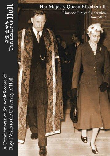Jubilee brochure
