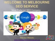 SEO Services | Web Marketing Experts