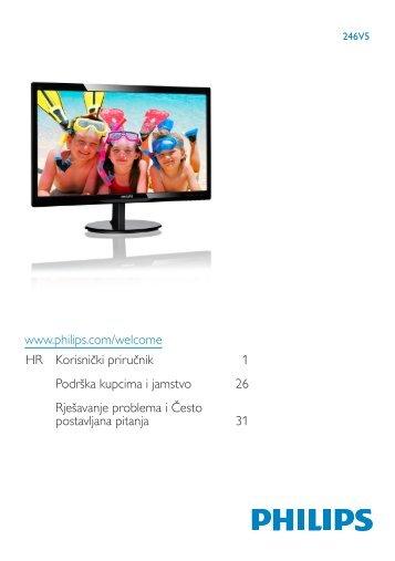 Philips Monitor LCD con SmartControl Lite - Istruzioni per l'uso - HRV
