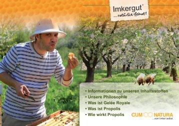Imkergut Kataloge Honig und Honigprodukte