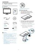 Philips Monitor LCD con SmartImage Lite - Istruzioni per l'uso - FIN - Page 6
