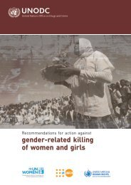gender-related killing of women and girls