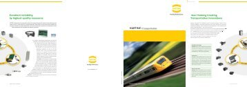 Excellent reliability by highest quality measures New ... - Harting