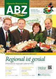 ABZ  - Allgemeine Bauernzeitung 2015/1 seit 1886