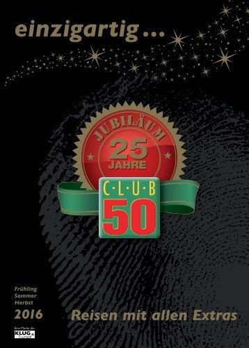CLUB 50 Katalog 2016