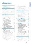 Philips Telefono cordless - Istruzioni per l'uso - DEU - Page 3