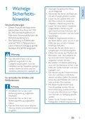 Philips Telefono cordless con segreteria - Istruzioni per l'uso - DEU - Page 5