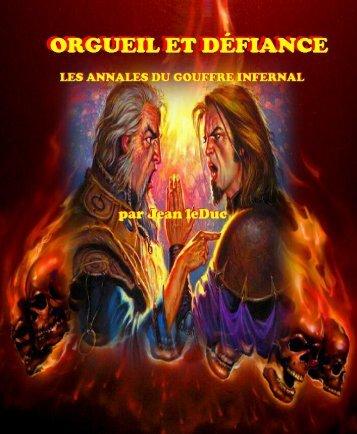 Orgueil et Défiance