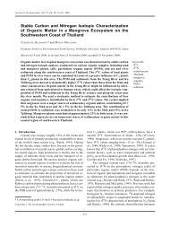 Stable Carbon and Nitrogen Isotopic Characterization of ... - terrapub