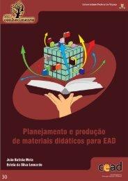 Planejamento e produção de materiais didáticos para EAD