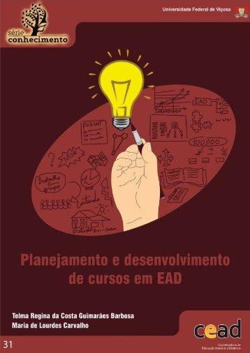 Planejamento e Desenvolvimento de cursos em EAD