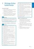 Philips Ricevitore aggiuntivo per telefono cordless - Istruzioni per l'uso - DEU - Page 5