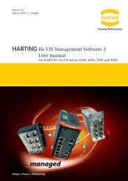 User's Manual mCon Switch Management Software - Harting