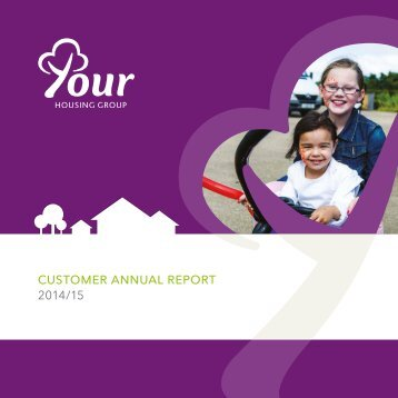 CUSTOMER ANNUAL REPORT 2014/15