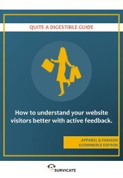 How to understand your website visitors better with active feedback