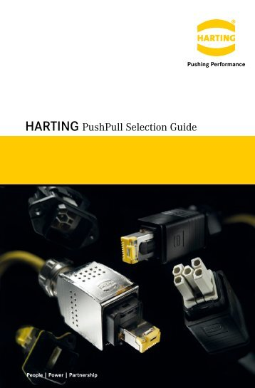 PushPull Device Connectivity for Signal – Data - Harting