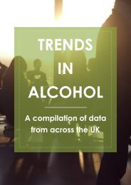 TRENDS IN ALCOHOL