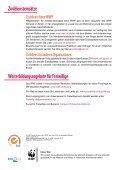 Freiwilligeneinsätze, Praktika und Zivildienst im Umweltbereich - Seite 6